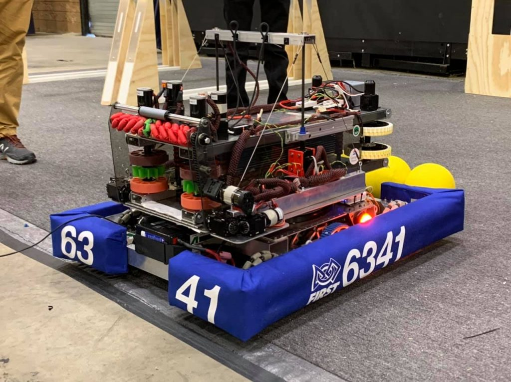 2020 Infinite Recharge Robot